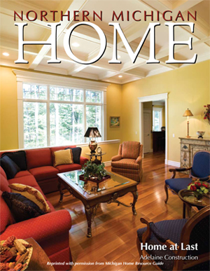 Custom Home Design from Design Depot Inc. featured in Home Magazine